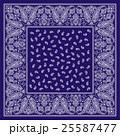 バンダナ スカーフ素材 25587477
