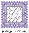 バンダナ スカーフ素材 25587479