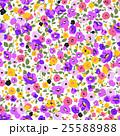 草花 花 花柄のイラスト 25588988