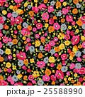草花 花 花柄のイラスト 25588990