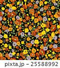 草花 花 花柄のイラスト 25588992