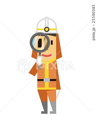 消防士【フラット人間・シリーズ】 25590385