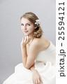 ブライダルビューティーショット 白人女性 ナチュラルメイク 25594121