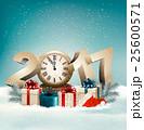 xマス クリスマス プレゼントのイラスト 25600571