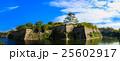 大阪城 青空 25602917
