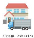 家 ベクター トラックのイラスト 25613473