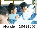 バス通勤 ビジネスマン 25616103