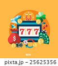 カジノ カジノの 777のイラスト 25625356