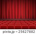 ステージ かーてん カーテンのイラスト 25627882