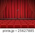 ステージ かーてん カーテンのイラスト 25627885