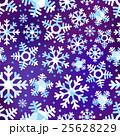 Different blue snowflakes set 25628229