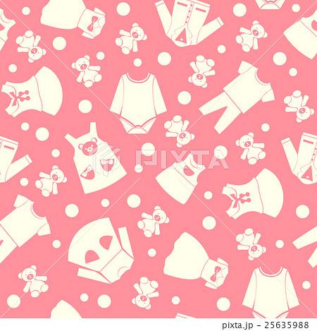 collection cute children fashion clothingのイラスト素材 [25635988] - PIXTA