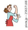 腕まくり お母さん 人物のイラスト 25637188