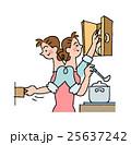 お母さん 人物 女性のイラスト 25637242