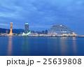 風景 夜景 ハーバーランドの写真 25639808