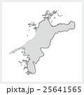 筆で描いた愛媛県 25641565