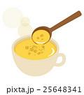 コーンスープ スープ ポタージュのイラスト 25648341