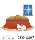 コタツと猫 25648897