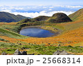 鳥海山・御浜から見る鳥海湖 25668314