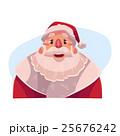 Santa Claus face, wow facial expression 25676242