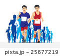 RUNNING PEOPLE VECTOR CONCEPT 25677219