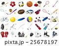 スポーツ用品いろいろ 25678197