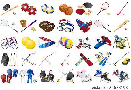 スポーツ用品いろいろ2 25678198