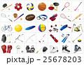 スポーツ用品いろいろ枠 25678203