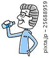 シニア ベクター フィットネスのイラスト 25688959