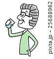 シニア ベクター 補給のイラスト 25688962