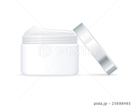 Cosmetic Cream Vector Illustration in Flat Designのイラスト素材 [25698493] - PIXTA