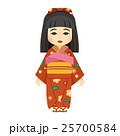 ベクター 日本人形 人形のイラスト 25700584