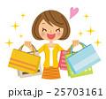 ショッピング 女性 25703161