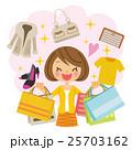 ショッピング 女性 25703162