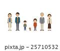 3世代 家族 犬のイラスト 25710532