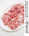 豚ロース肉 白バック 25713707