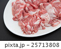 豚ロース肉 黒バック 25713808