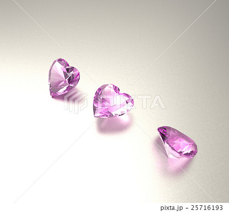 3D illustration with diamonds. Jewelry background 25716193