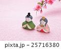 桃の花 お雛様 桃の節句の写真 25716380