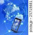 スマートフォンでネットにアクセス 25719881