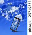 スマートフォンで株式市場にアクセス 25719882