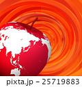 リンゴ果実の地球 25719883