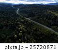 北海道の森林(中山峠付近) 空撮 25720871