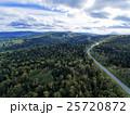 北海道の森林(中山峠付近) 空撮 25720872