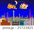 工場地帯のクリスマスの夜 25723825