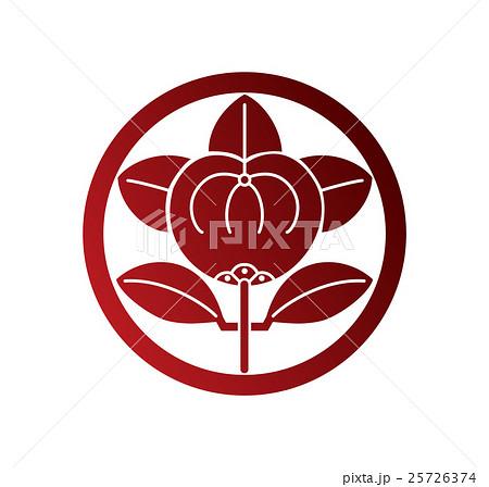 井伊氏家紋 橘紋赤色 25726374