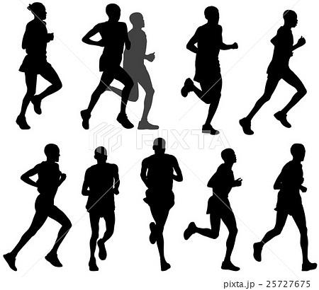marathon runners 25727675