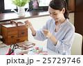 女性 手芸 パッチワークの写真 25729746