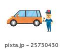 メンテナンス 整備士【フラット人間・シリーズ】 25730430