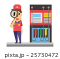 ガソリンスタンド【フラット人間・シリーズ】 25730472